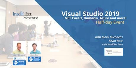 IntelliTect Presents! Visual Studio 2019, .NET Core 3, Xamarin and Azure! tickets