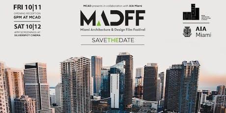 Miami Architecture & Design Film Festival Screening tickets