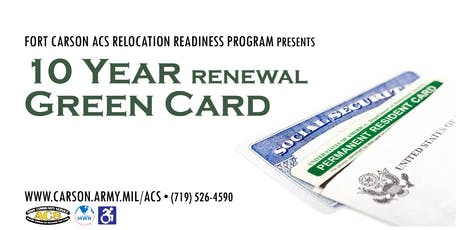 10 Year Renewal for Green Card tickets