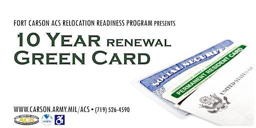 10 Year Green Card (Renewal)