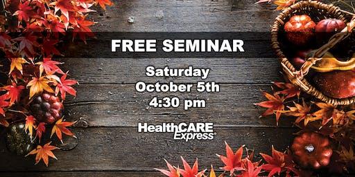Free Seminar - Healthcare Express