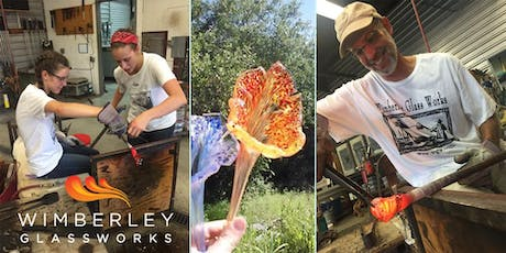 Hands On Glass Class Experience - Make a Paperweight or Lily January 25th tickets