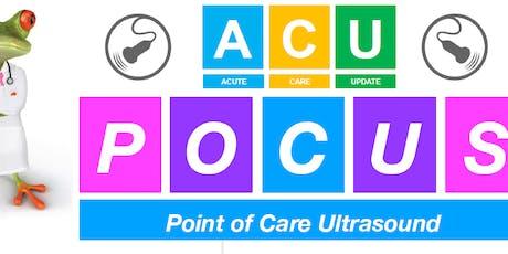 2019 ACU - Point of Care Ultrasound (POCUS) Workshop tickets