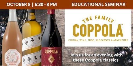 Educational Seminar: Coppola Classics tickets