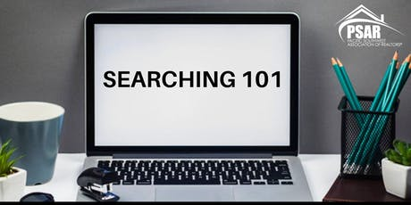 Paragon: Searching 101 - South tickets