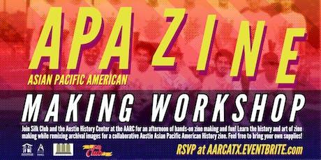 APA Zine Making Workshop! tickets