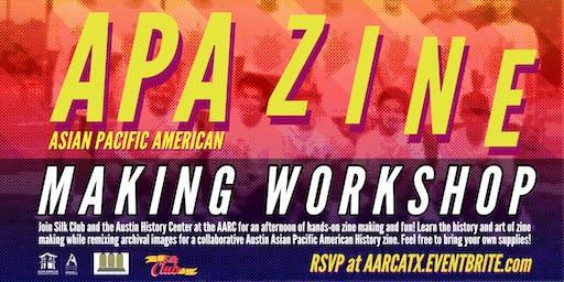 APA Zine Making Workshop!