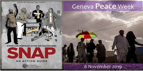 Geneva Peace Week: Supporting Activism and Peace Amid Repression and War billets