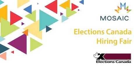MOSAIC Elections Canada Hiring Fair tickets