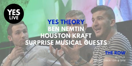 Yes Theory Presents... YES LIVE tickets