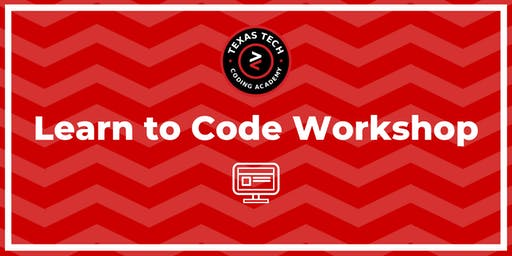 TTUCA | Learn to Code Workshop | @ TTU at Highland Lakes | 10.29.19