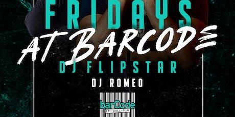 Fridays @barCode tickets