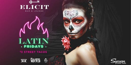 Latin Night at Elicit Bar and Lounge (Free Salsa Lessons)