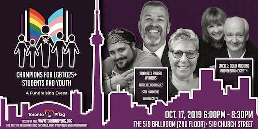 Toronto Pflag Ally Awards : Champions for LGBTQ2S+ Students & Youth