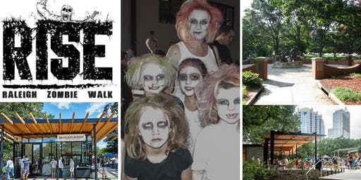 Zombie Kid Walk 2019 Invades Downtown Raleigh
