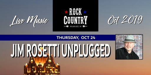 Jim Rosetti Unplugged at Rock Country!