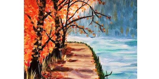 11/5 - The Path in Fall @ Fletcher Bay Winery, Bainbridge