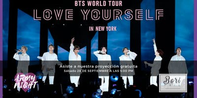 BTS LOVE YOURSELF EN NUEVA YORK - GRATIS