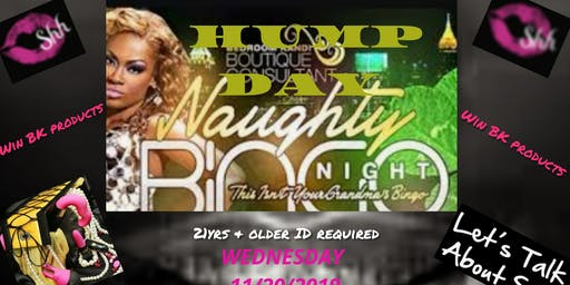Naughty By Keke Presents Hump Day Naughty Bingo