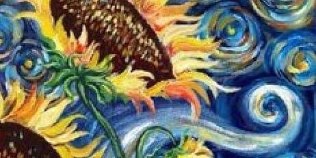 Van Gogh Sunflowers! $35
