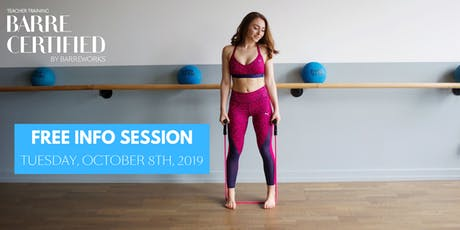 Certified by Barreworks Info Session tickets