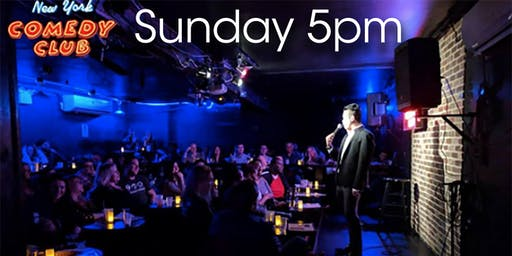 Free Tickets for the 'Sunday Early Show' at New York Comedy Club -  Standup Comedy