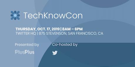 TechKnowCon 2019 tickets