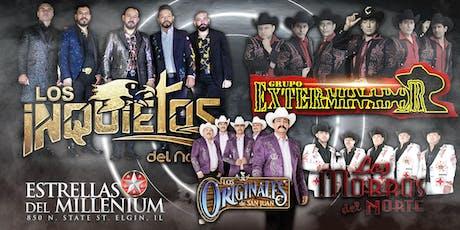 LOS INQUIETOS - EXTERMINADOR - LOS ORIGINALES tickets