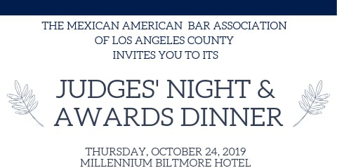 MABA JUDGES' NIGHT & AWARDS DINNER