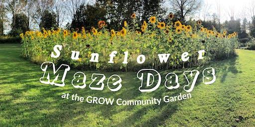 GROW Garden Sunflower Maze