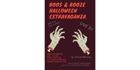 BOOS AND BOOZE tickets