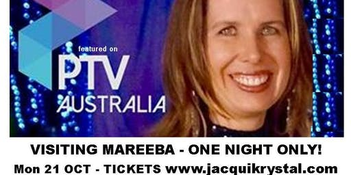 "Mareeba - Psychic Medium Jacqui Krystal, LIVE in ""Messages From Beyond"""