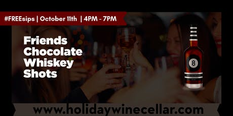 #FREEsips | 8 Ball Chocolate Whiskey Tasting tickets