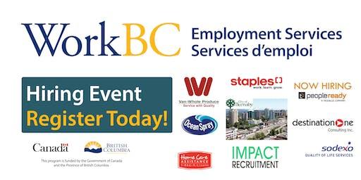 Vancouver North East WorkBC - Careers in Engineering/Construction/Warehouse/ Food Industries