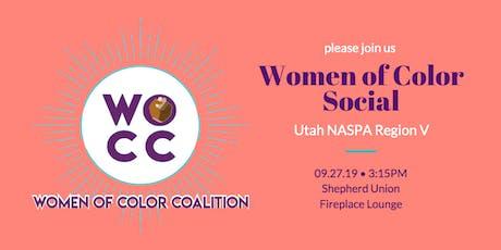 Women of Color Social --  Utah NASPA Region V tickets