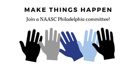 NAASC Philadelphia: Join a Committee2 tickets