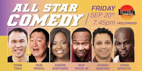 Roy Wood Jr., Sherri Shepherd, and more - All-Star Comedy! tickets