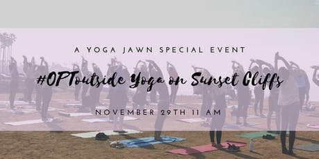 #OptOutside Yoga on Sunset Cliffs 11 AM tickets