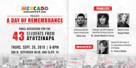 Day of Remembrance of the 43 students from Ayotzinapa tickets