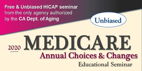 Medicare Annual Choices & Changes tickets