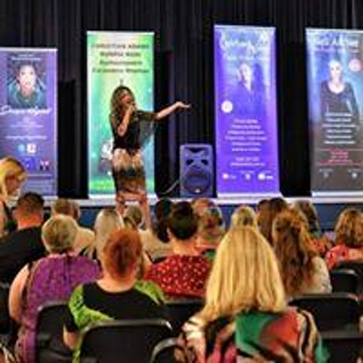"""Narooma- Psychic Medium Jacqui Krystal, LIVE in """"Messages From Beyond"""" image"""