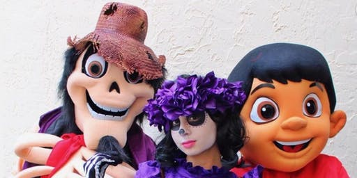 Halloween Fiesta with Miguel + Friends from Coco