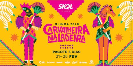 Carvalheira Na Ladeira 2020 - Pacote 5 Dias ingressos