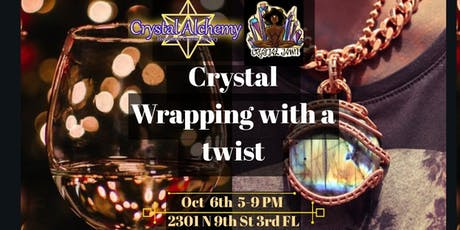 Crystal Wrap With a Twist tickets
