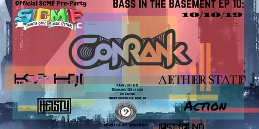 Bass in the Basement EP 10: Conrank (SCMF Pre-Party)