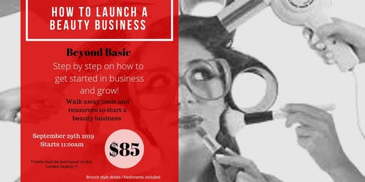 How to Launch a Beauty business