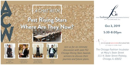 FGI Chicago Presents: A Chat With: Past Rising Stars, Where Are They Now? tickets
