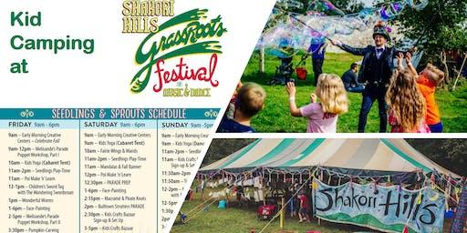 Kid Camping at Shakori Hills Festival of Music & Dance