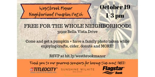 Westbrook Manor Neighborhood Pumpkin Patch + Family Photos