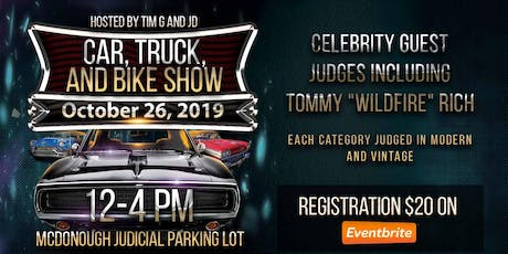 Car, Truck and Bike Show tickets